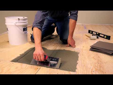 RONA – How To Lay Floor Tiles
