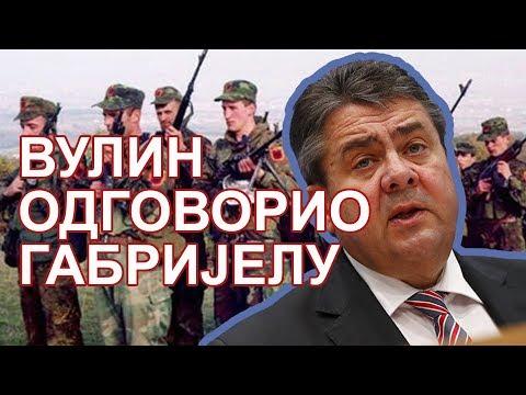 Ministar odbrane Aleksandar Vulin poručio je danas da Srbija neće priznati Kosovo. Vulin je to rekao povodom izjave nemačkog šefa diplomatije Zigmara Gabrijela, koji je juče u Prištini rekao da je krajnji cilj njegove zemlje da omogući ulazak…