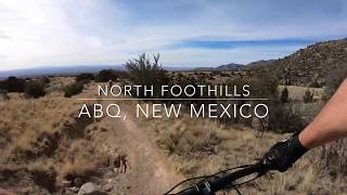 Mountain Biking | North Foothills | Albuquerque, New Mexico