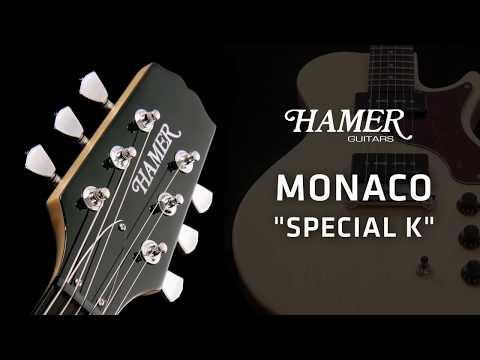 Hamer Monaco Korina - Sound Demo