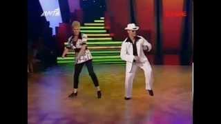 Dancing with the stars GR s01e12 (ΤΕΛΙΚΟΣ)_ Φωτεινη & Δημητρης-Disco