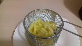 Фритюрница Polaris. Приготовление картошки фри!