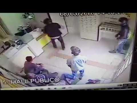Criminosos assaltam agência dos Correios em Alvinlândia