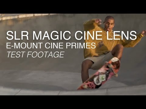 SLR Magic CINE Prime Lenses E-Mount – 35mm f1.2, 50mm f1.1, 75mm f1.4