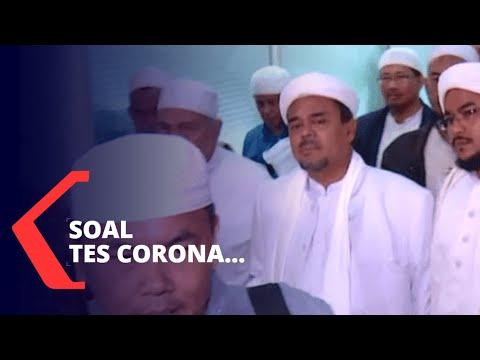 fpi sebut rizieq shihab sudah tes swab dan hasilnya negatif corona
