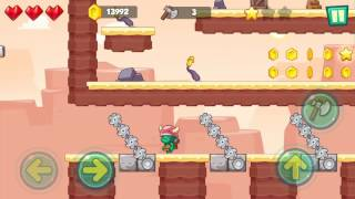 Jungle Adventures: Super World - Sahara Level 11... Gameplay (Free Game On Android)