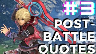 Xenoblade Chronicles 2 - Shulk and Fiora Post Battle Quotes ( Part 3 ) - dooclip.me