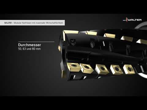 IGEL-FRÄSER M4258. Modular Nutfräsen mit maximaler Wirtschaftlichkeit.