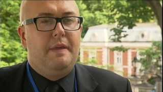 Jacek Purski on anti-racism activities at Euro 2012, 17.06.2011.