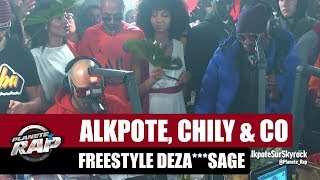 Alkpote, Chily & Co   Freestyle Deza***sage Avec Luv Resval & Savage Toddy #PlanèteRap