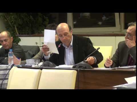 Δημ Συμβούλιο 16-2-15 Τοποθετήση αντιδημάρχου κ. Κόκκαλη