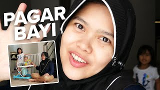 UNBOXING PAGAR BAYI MERK Baby Safety