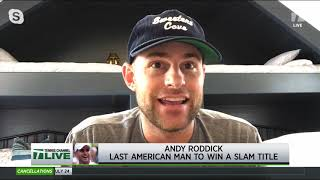Tennis Channel Live: Roddick Reflects on His 2003 US Open Title Run, Breaks Down 2019 Men's Final