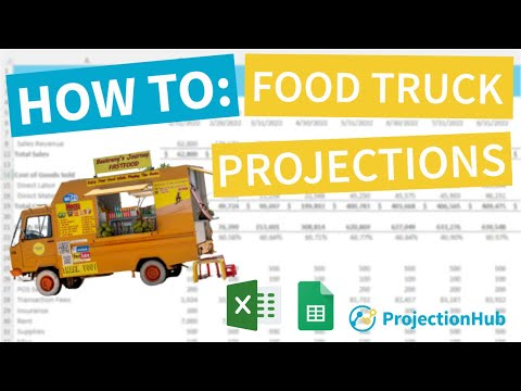 , title : 'Food Truck Financial Projection Template