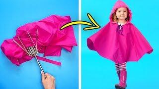 Как сделать для рыбалки из зонтика юбку