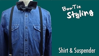 BowTie Style Shirts & Suspenders,Craftsman,Casual/BOWTIE SPECIMENS