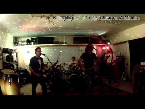 100 Revolutions a Minute - Killingilligan - Band Practice 121312