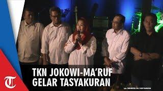 Tasyakuran TKN Potong Tumpeng untuk Rayakan Kemenangan Pilpres 2019