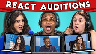 College Kids React to Their Audition for College Kids React #2 - Video Youtube
