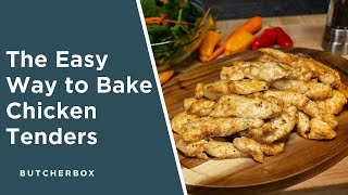 Easy Baked Chicken Tenders