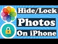 How To Hide/Lock Photos On iPhone || Hide Photos || Apple info