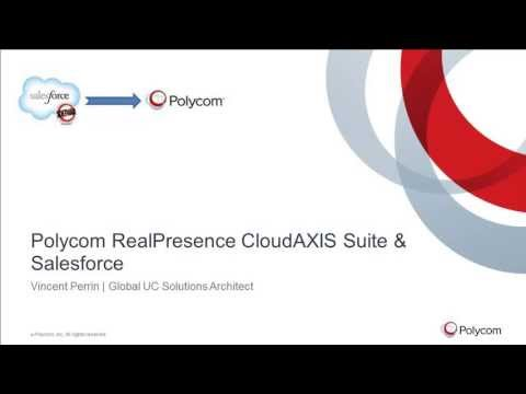 Polycom CloudAXIS & Salesforce - YouTube