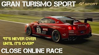 GT SPORT - NEVER GIVE UP (SUSPENSEFUL RACING)