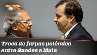 A treta entre Guedes e Maia parece ter atingido o pico | Morning Show