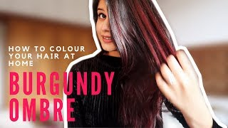 DIY - HOW TO COLOUR YOUR HAIR AT HOME | L'Oréal Colorista Burgundy  20