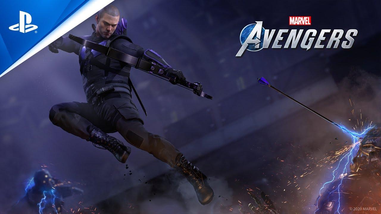 Conseil de guerre Marvel's Avengers : résumé de la bêta et annonce du personnage Œil-de-faucon
