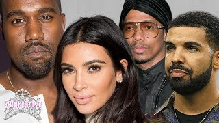 Kanye West defends Kim Kardashian and calls out Drake, Nick Cannon, and Tyson Beckford