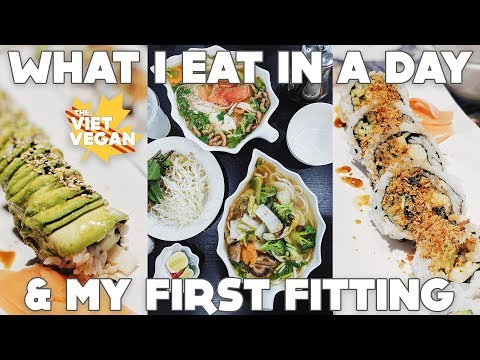 What I Ate the Day of My First Dress Fitting ft. My Mom ♥