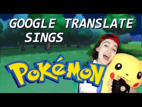 Pokémon z Google překladače