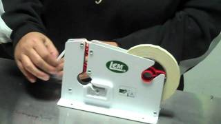 Poly Bag Tape Machine - How to use