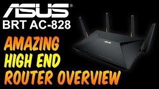 The ASUS BRT AC828 Commercial Router is not only designed just for