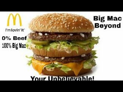 Big Mac Beyond McDonald's Answer to The Impossible Whopper