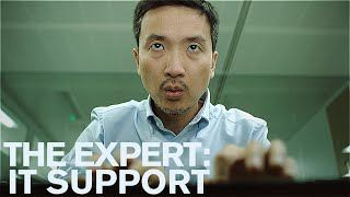 The Expert: IT Support (Short Comedy Sketch)