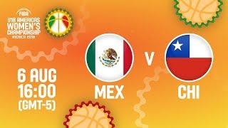Mexico v Chile - Full Game - FIBA U18 Women's Americas Championship 2018