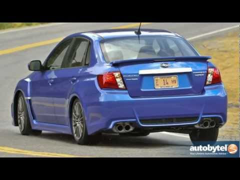 2012 Subaru WRX Video Road Test and Review