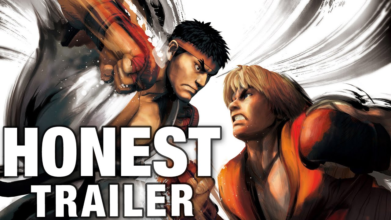 Street Fighter Versus Honest Game Trailers: More Fun Than Kicking A Car
