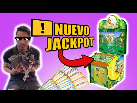 Muchos TICKETS en Super Monkey Ball | Este JACKPOT me volvio LOCO