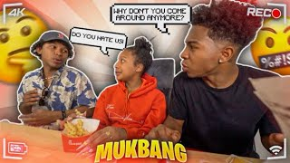 WHY MY BROTHER DOESN'T LIKE BEING WITH US ANYMORE... *CHICK-FIL-A MUKBANG*