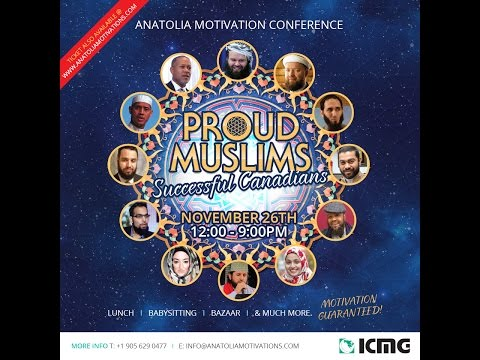 Promo, Anatolia Motivation Conference (Nov. 26)