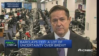 Barclays CEO: Uncertainty around Brexit but we are staying committed to the UK | Squawk Box Europe