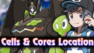 Pokemon Sun & Moon - All Zygarde Cell & Core Locations (How to get Complete Zygarde 100% Form)