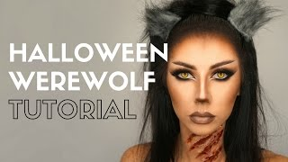 Halloween Makeup Tutorial | Halloween Werewolf Makeup