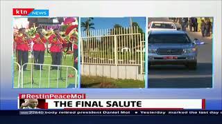 Moi's Final Salute: Kenyan military taking care of Former President Moi's body
