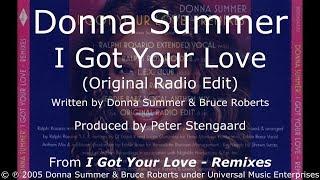 Donna Summer - I Got Your Love (Original Radio Edit) LYRICS - HQ 2005