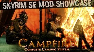 Skyrim SE Mods: Campfire - Complete Camping System