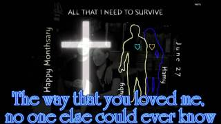 CHARICE - ALL THAT I NEED TO SURVIVE ( LYRICS ) for Hamy